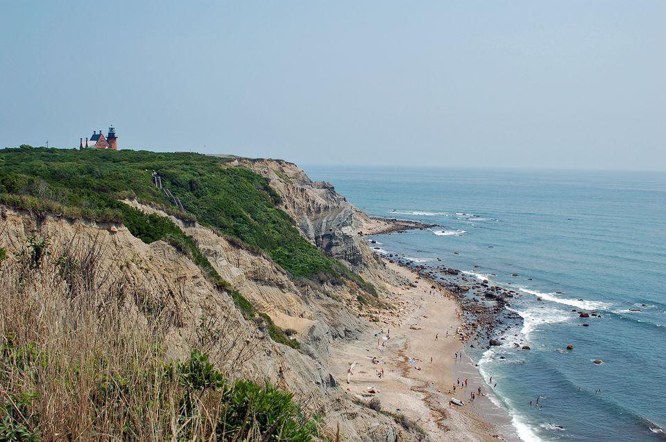 Mohegan Bluffs Block Island