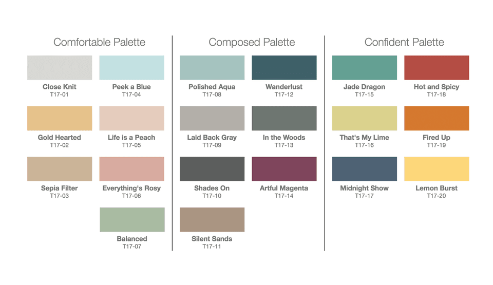 Paint Color Trends behr 2017 color trends - see every gorgeous paint color