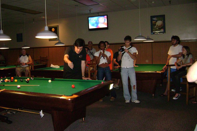 how to rack pool balls, pool ball rack, racking pool balls, billiards etiquette