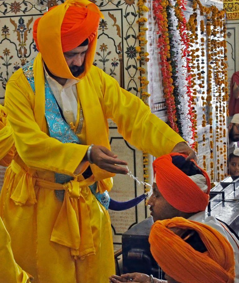 Sikh initiation ceremony