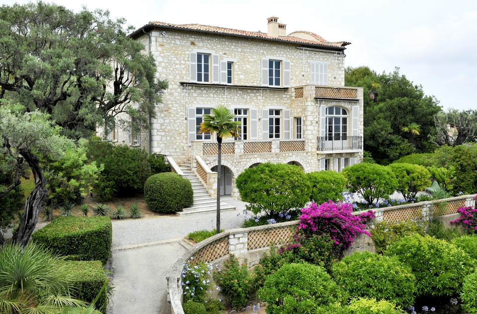 Renoirs House in CagnessurMer on the Cote dAzur