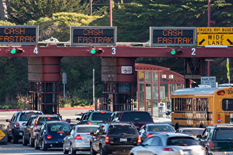Cash Car Rentals >> Golden Gate Bridge Tolls for Visitors