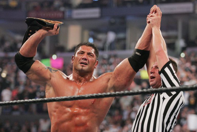 Batista has gone from success in wrestling to success on the silver screen.