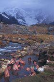 Rio Lauramarca hot springs termas