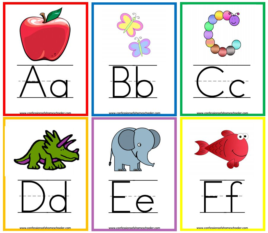 Alphabets Flash Cards Grude Interpretomics Co