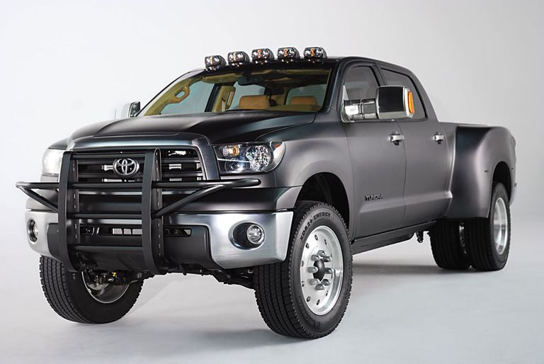 Toyota Diesel Trucks - Toyota Tundra Sel Dually Project Truck