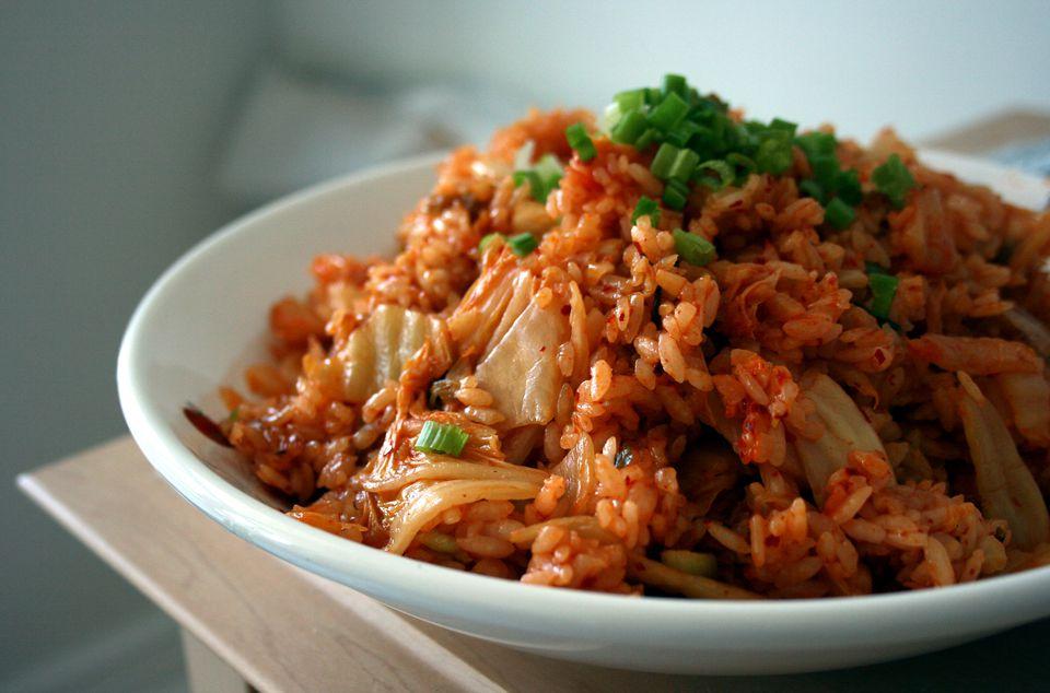 A Bowl of Kimchi Rice