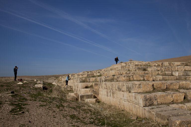 The The Jerwan Aqueduct, built by King Sennacherib around 700 BC.