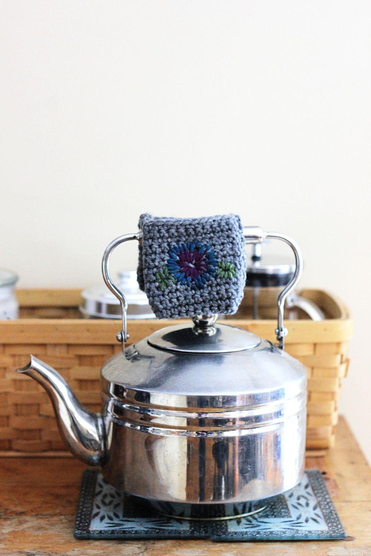 Teapot Handle Cozy Free Crochet Pattern