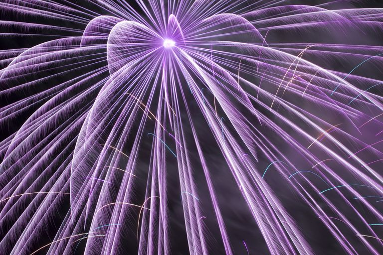 Potassium compounds are used as oxidizers in fireworks. They also contribute a purple color to burning mixtures.