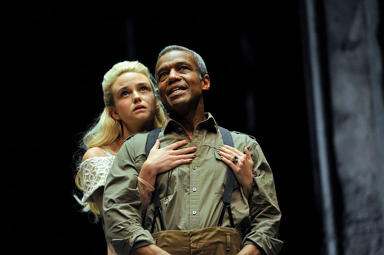 UK - The Royal Shakespeare Company's production of William Shakespeare's Othello