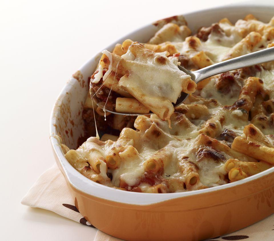 Baked Cheesy Ziti Pasta Recipe For Kids