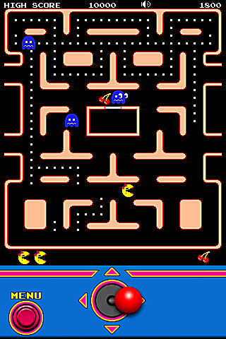 Ms. Pac-Man captures the arcade classic.