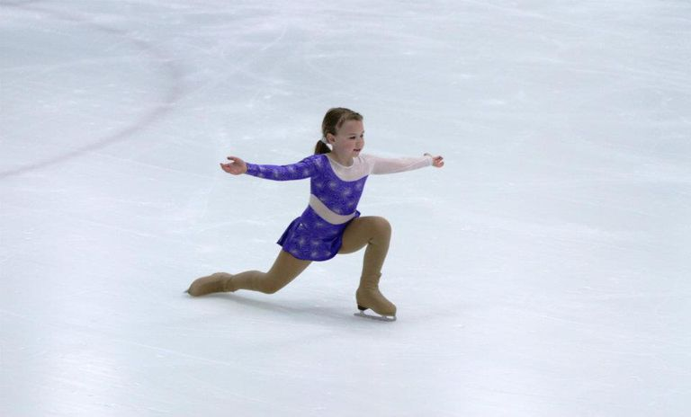 Kids figure skating - competition