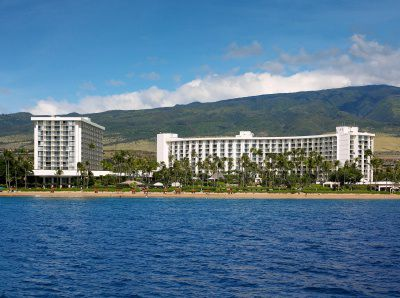 The Westin Maui Resort & Spa as seen from the ocean off of Ka'anapali Beach