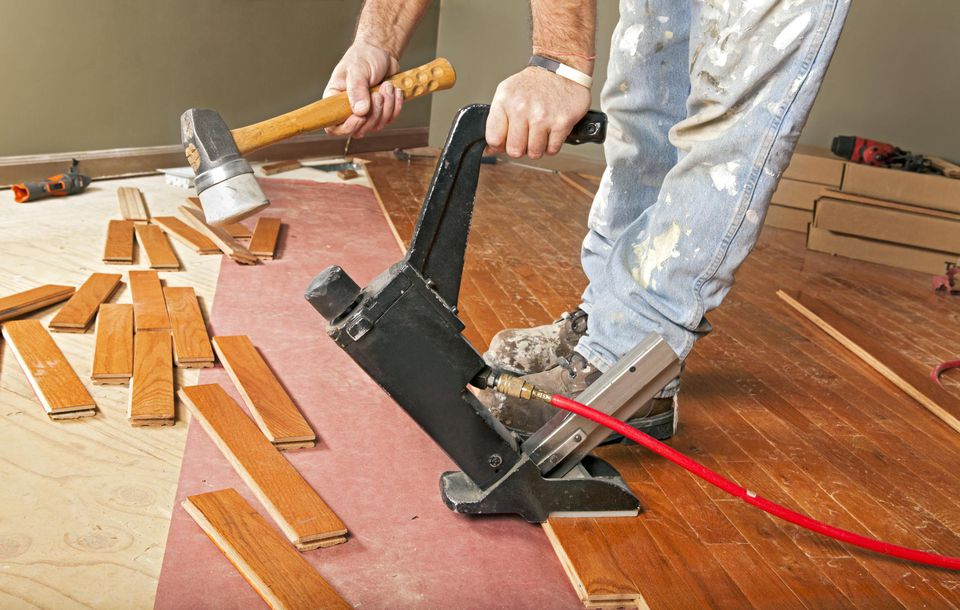 6 steps to preparing for wood floor installers for Installing 3 4 inch hardwood flooring
