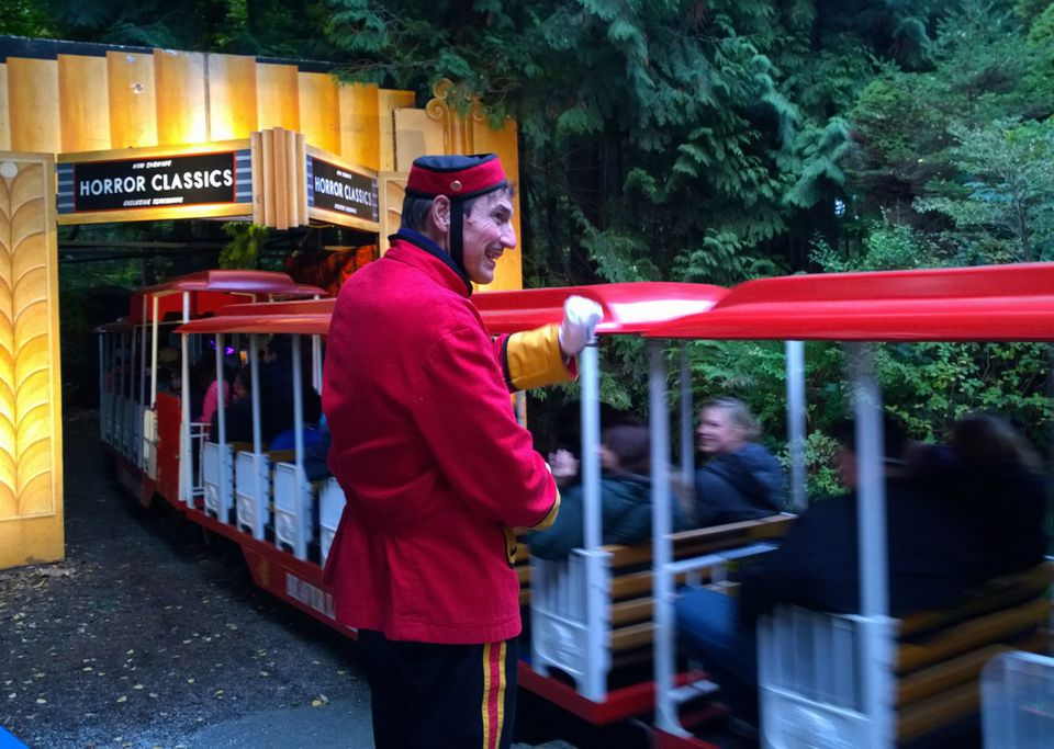 Vancouver's Stanley Park Ghost Train