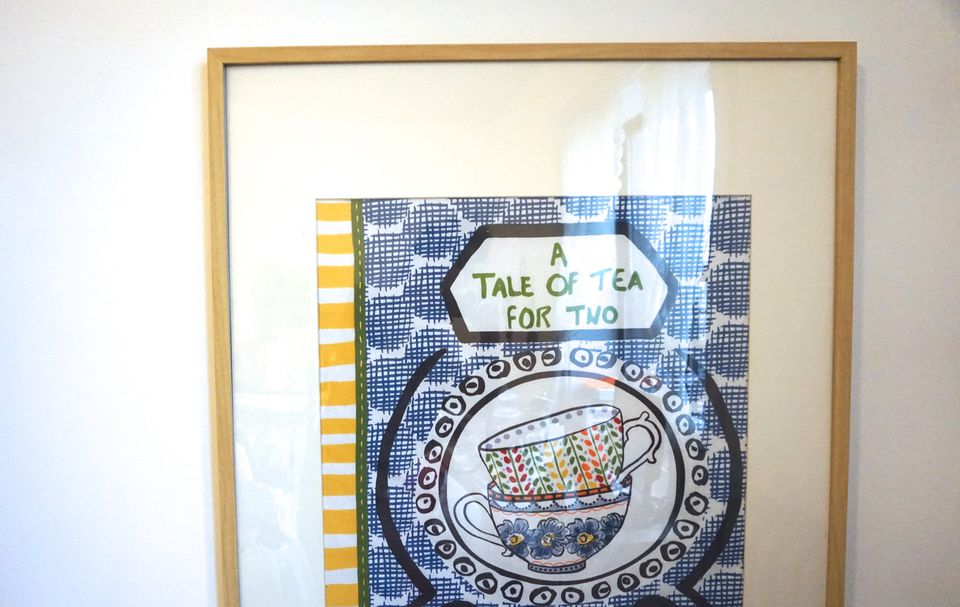 How To Frame Your Favorite Textiles