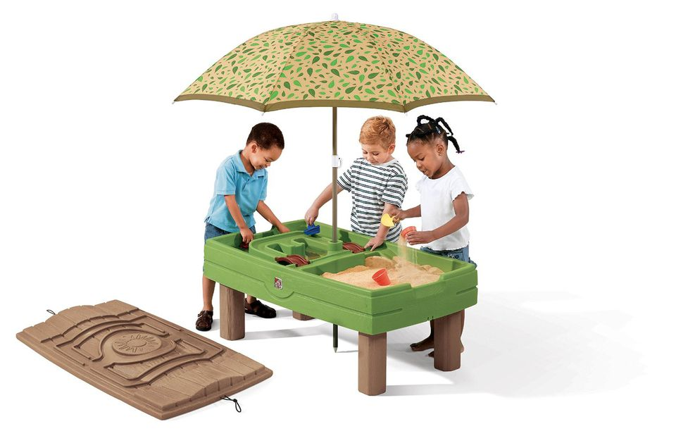Step 2 Sand and Water Activity Tables