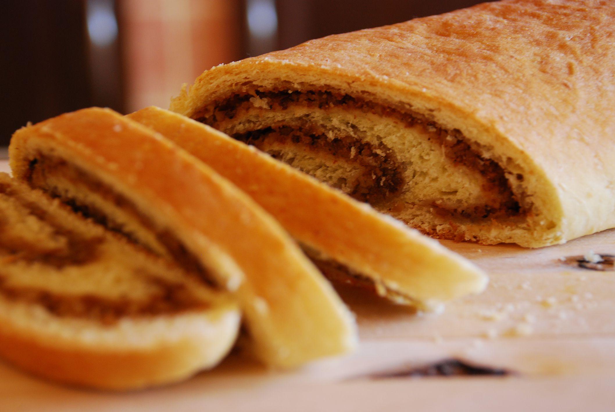 Serbian Nut Roll Orehnjaca Recipe