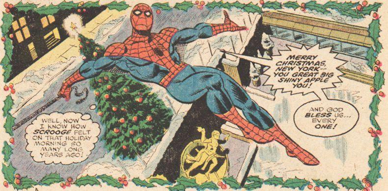 10 Best Spider-Man Christmas Stories