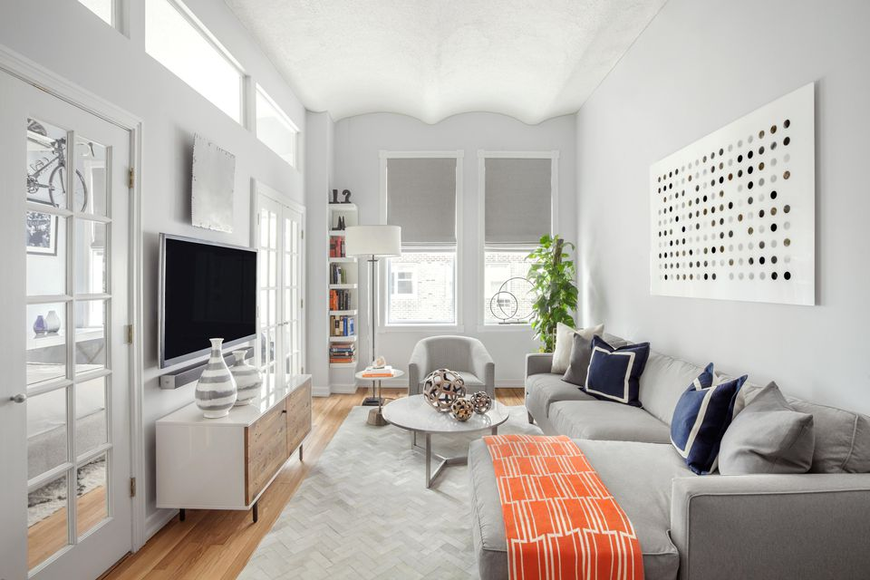 How to decorate a small living room - How to decorate a gray living room ...