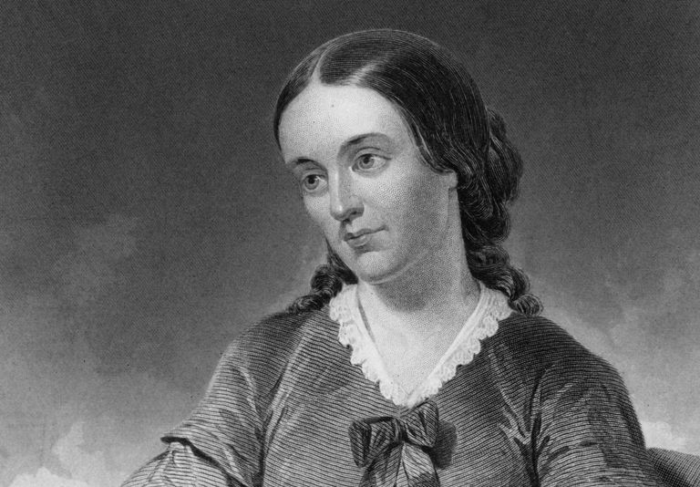 Portrait of early feminist writer Margaret Fuller