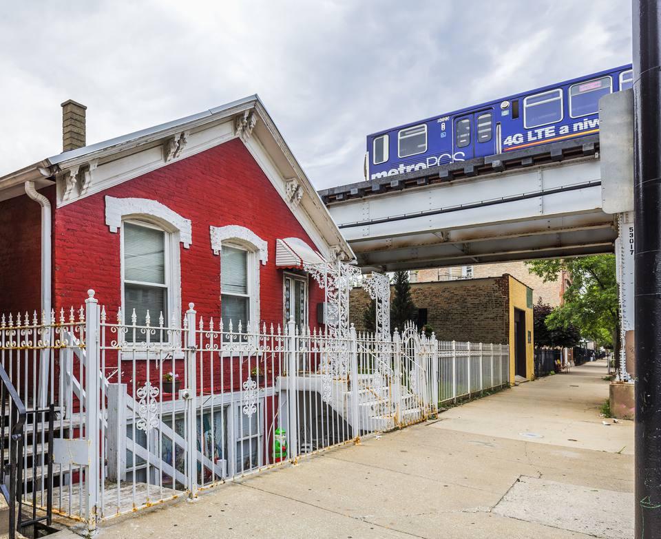 house under railway