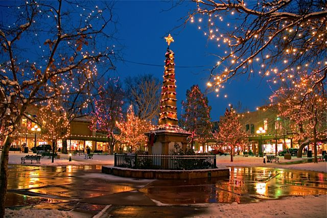 Santa fe luxury travel vacations new mexico for Best december vacations in usa