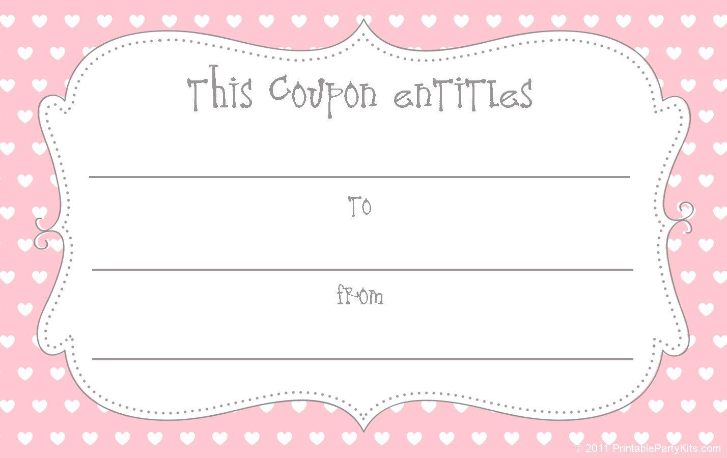 Free printable love coupons and coupon templates yadclub Choice Image