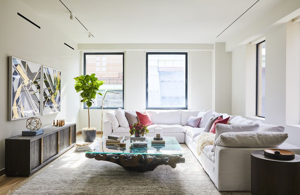 House Tour: A Modern Pre-War In the Heart of Manhattan