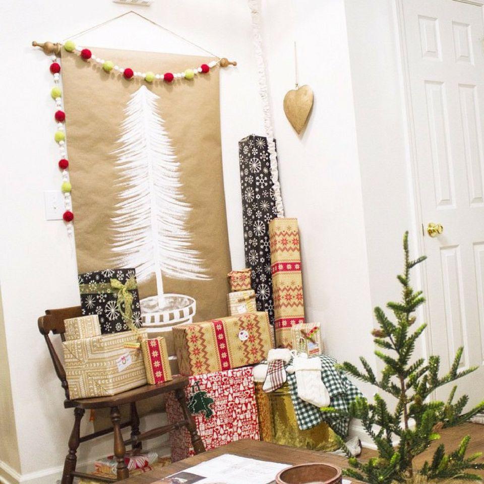 Christmas Tree Alternatives For Christmas And The Holiday