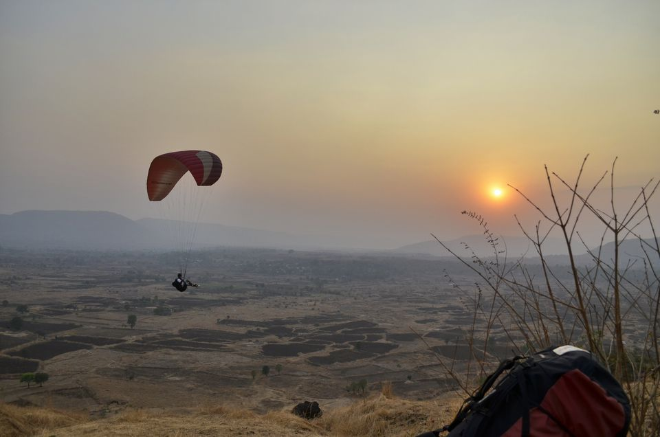 Paragliding with Nirvana Adventures.