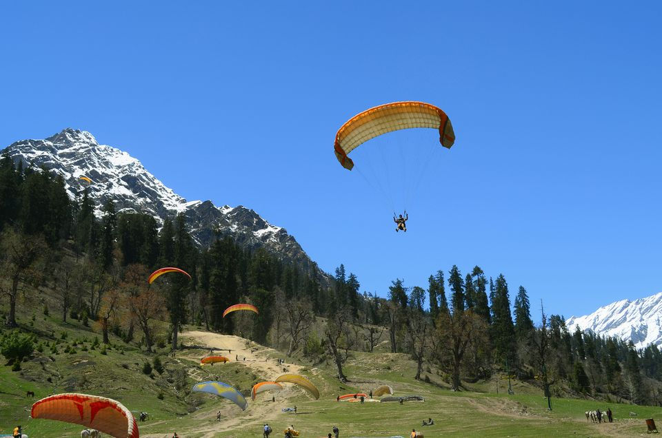 Paragliding at Solong Valley