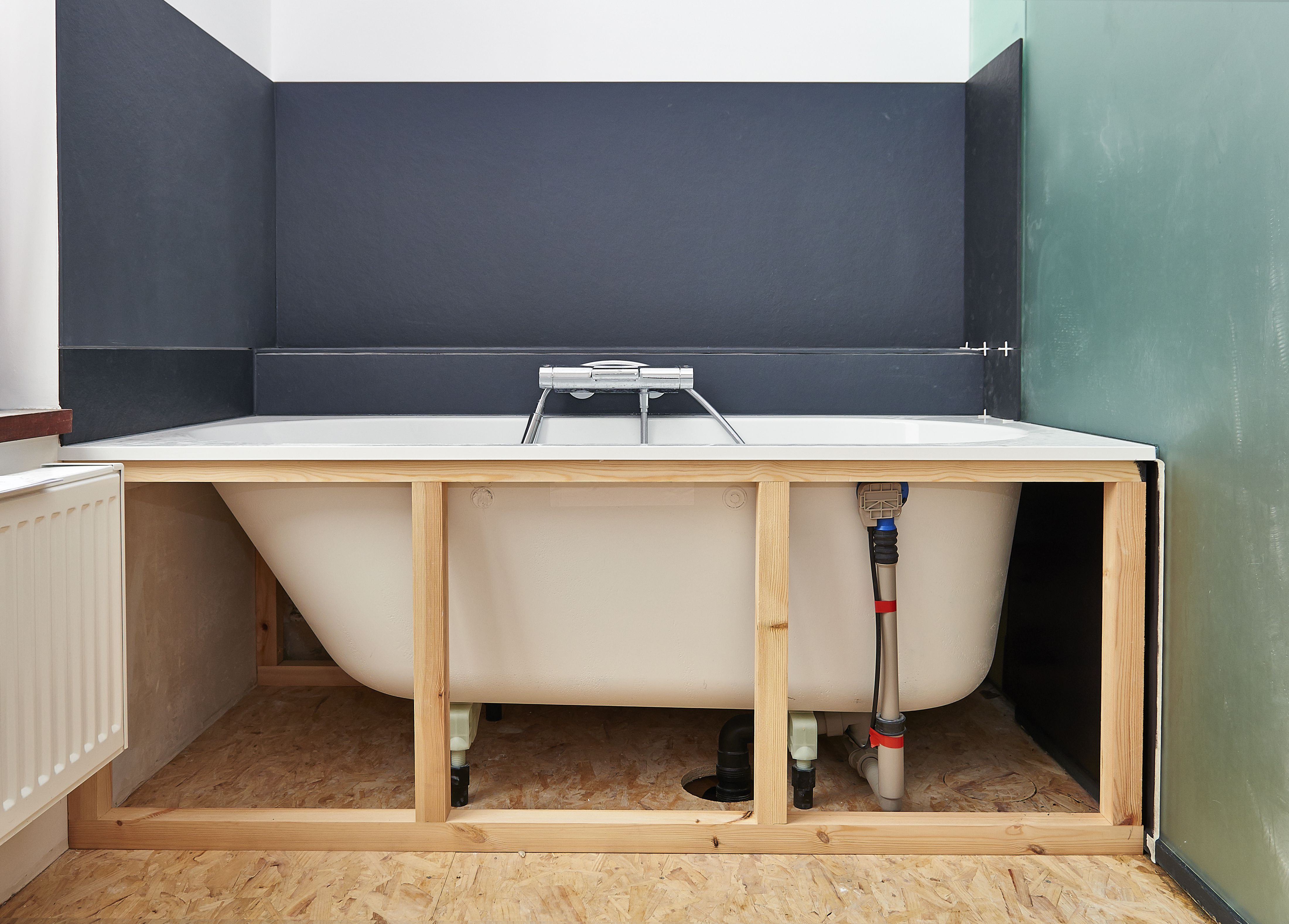 Before you buy a tub or shower surround for Plumbing remodeling
