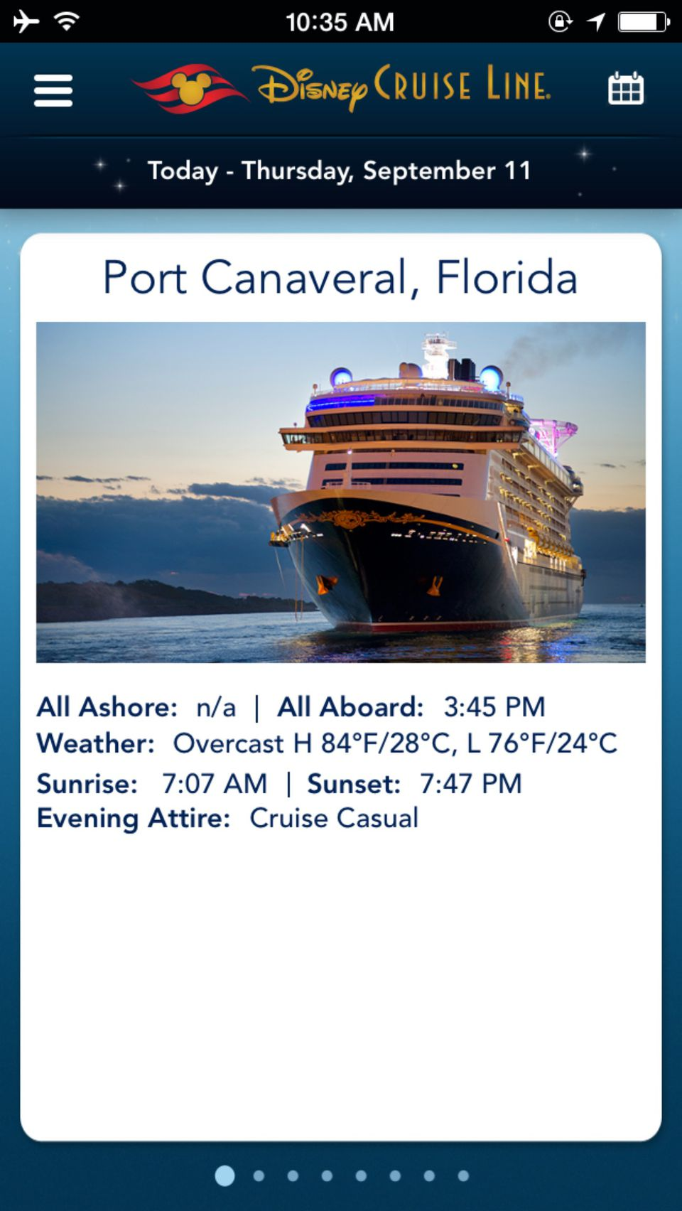 How To Use The Disney Cruise Line Navigator App - Can you text from a cruise ship