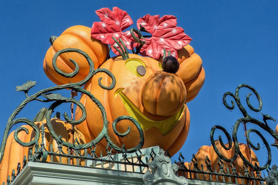 Fall Decorations at Disneyland