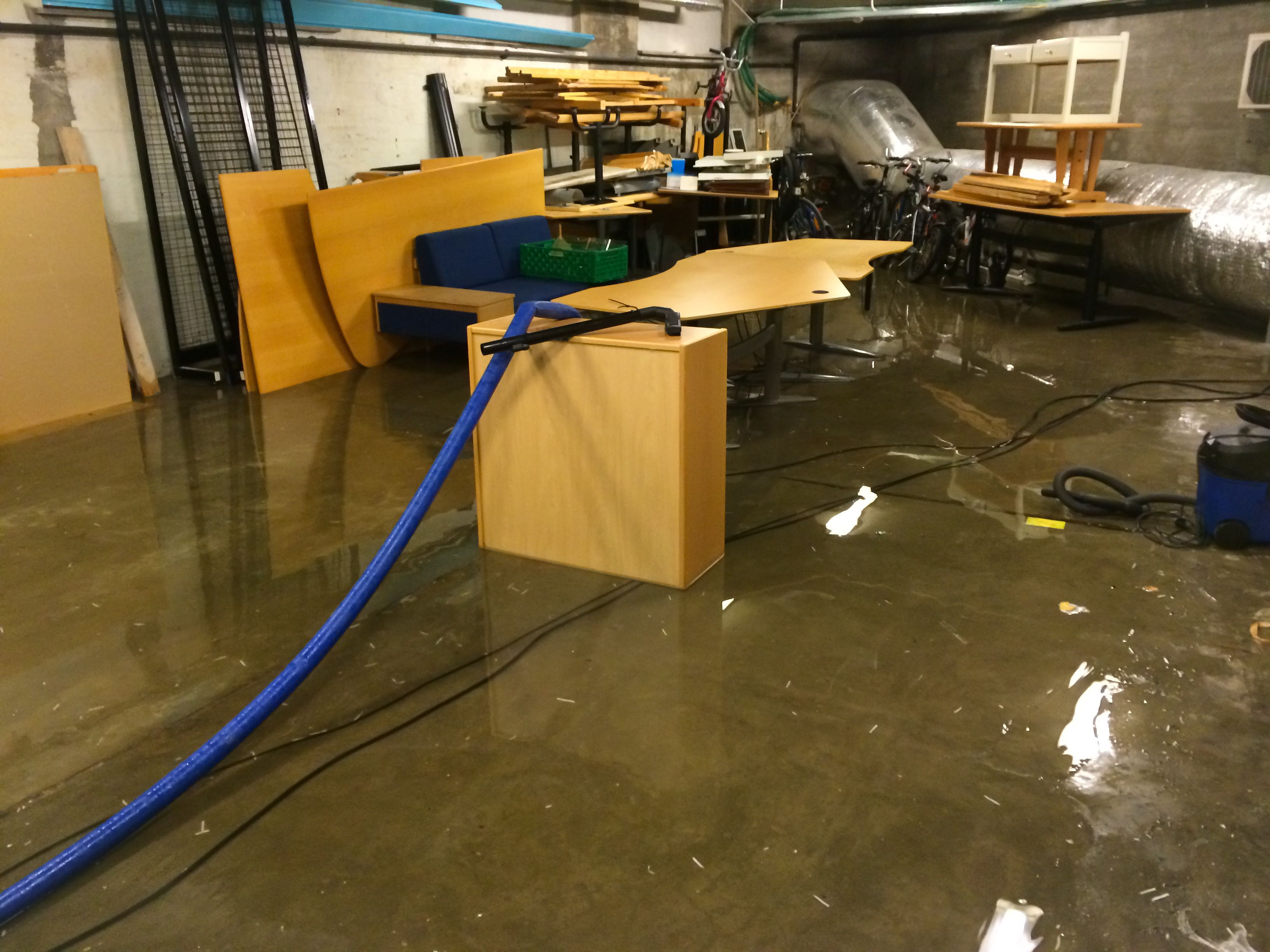 Correcting Outdoor Causes of a Wet or Flooding Basement