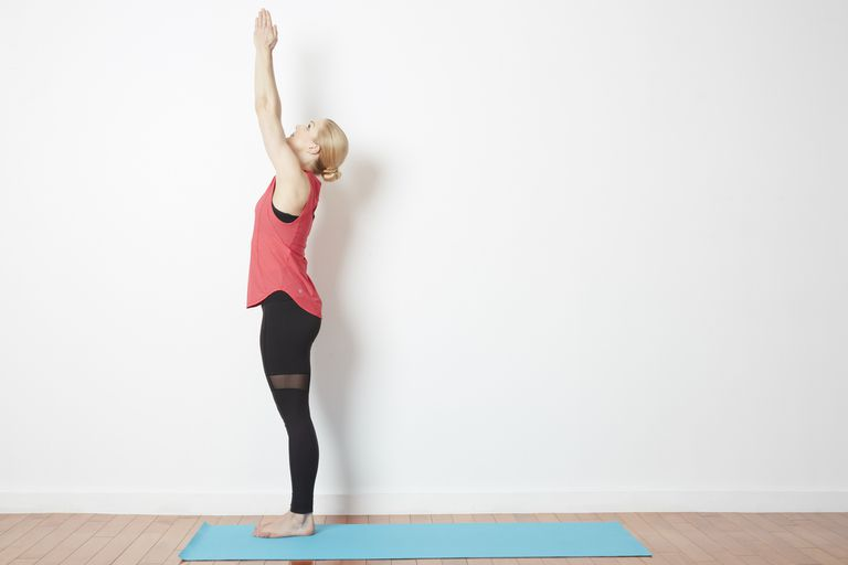 How to Do Raised Hands Pose - Urdhva Hastasana