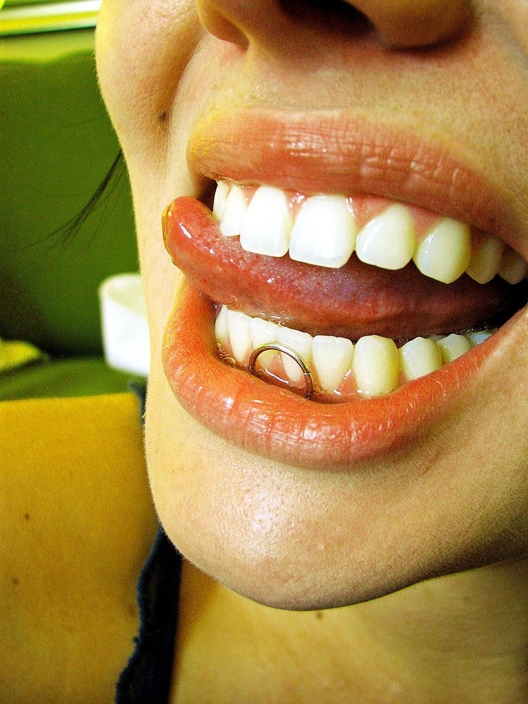 Frenulum piercing oral sex tips