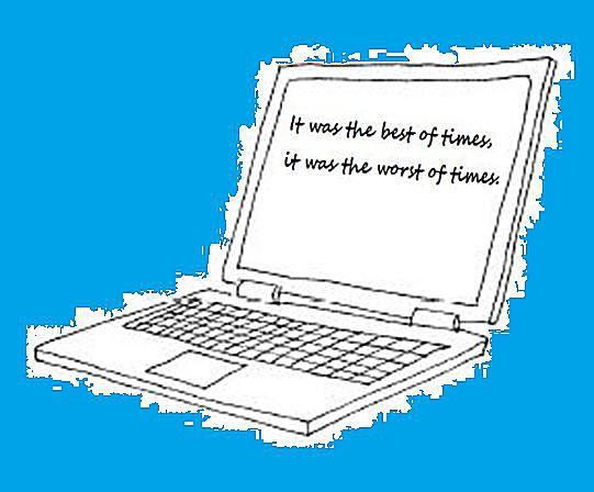 Word Processing Image by Carol Brusch