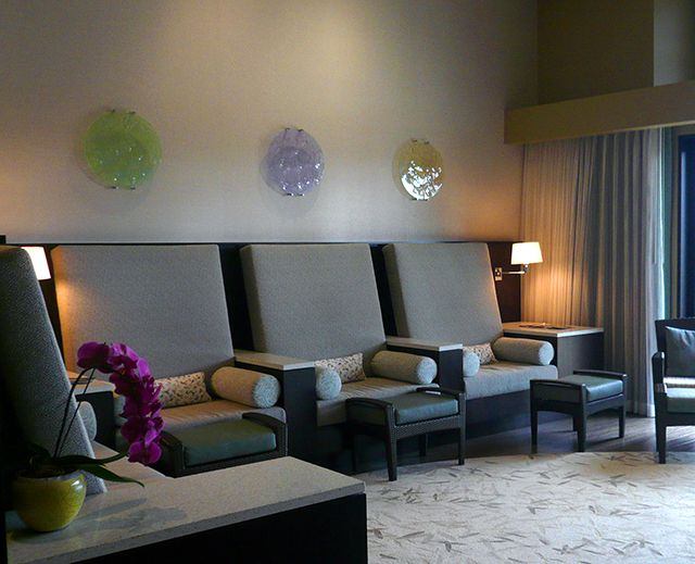 Photo of Spa Relaxation Room at The Allison Inn and Spa in Newberg Oregon