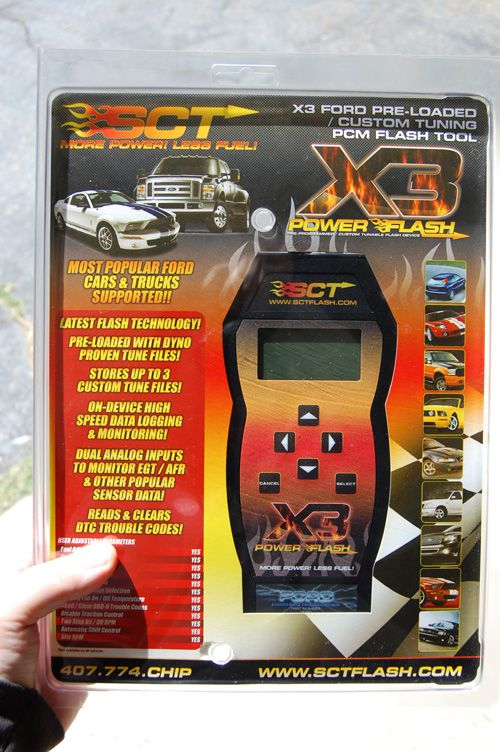 SCT X3 Power Flash Programmer