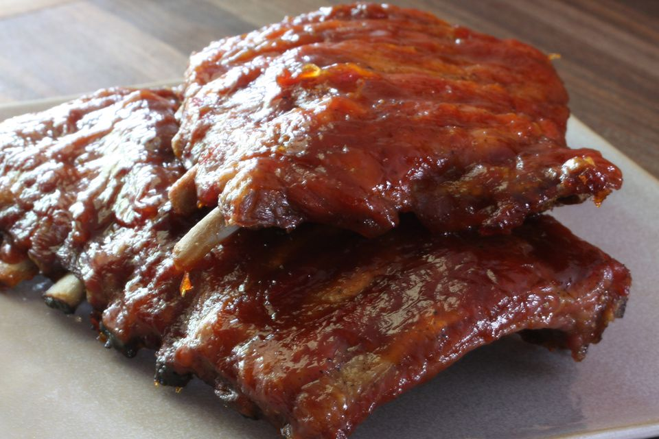 Baby Back Ribs with Homemade Sauce