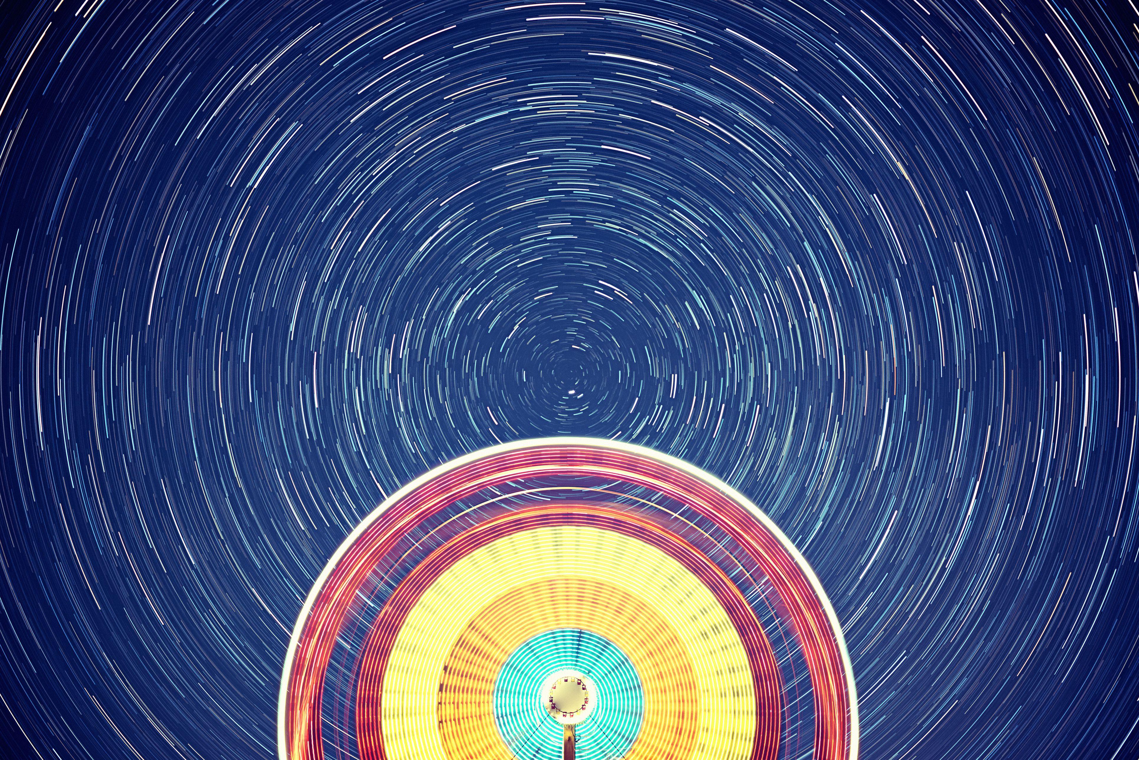 Texas Star Ferris Wheel Lights Up The Big Texas Sky