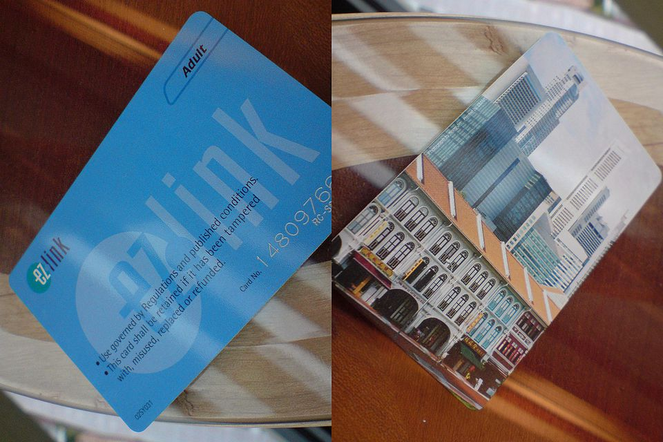 EZ-Link Card in Singapore