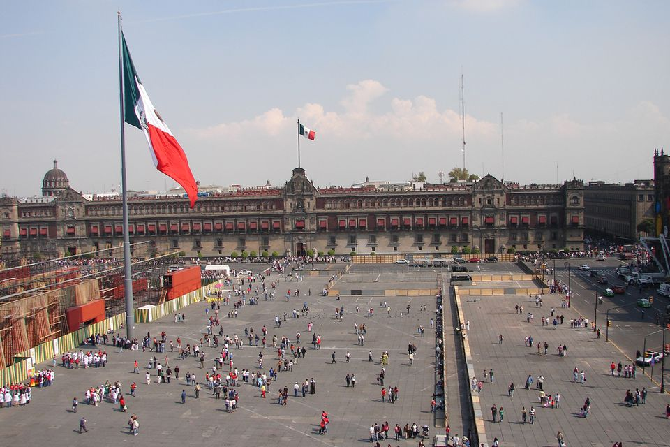 Mexico City Zocalo