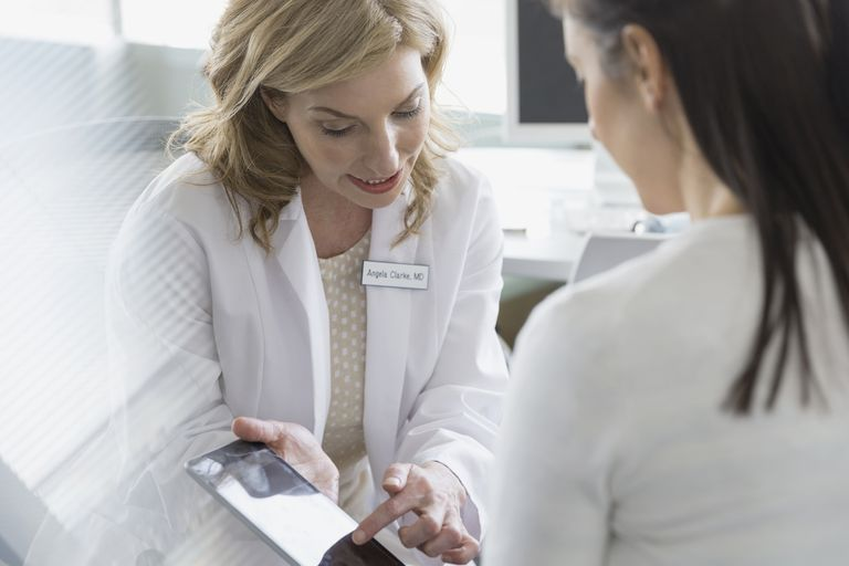 Physician Discussing Condition with Patient