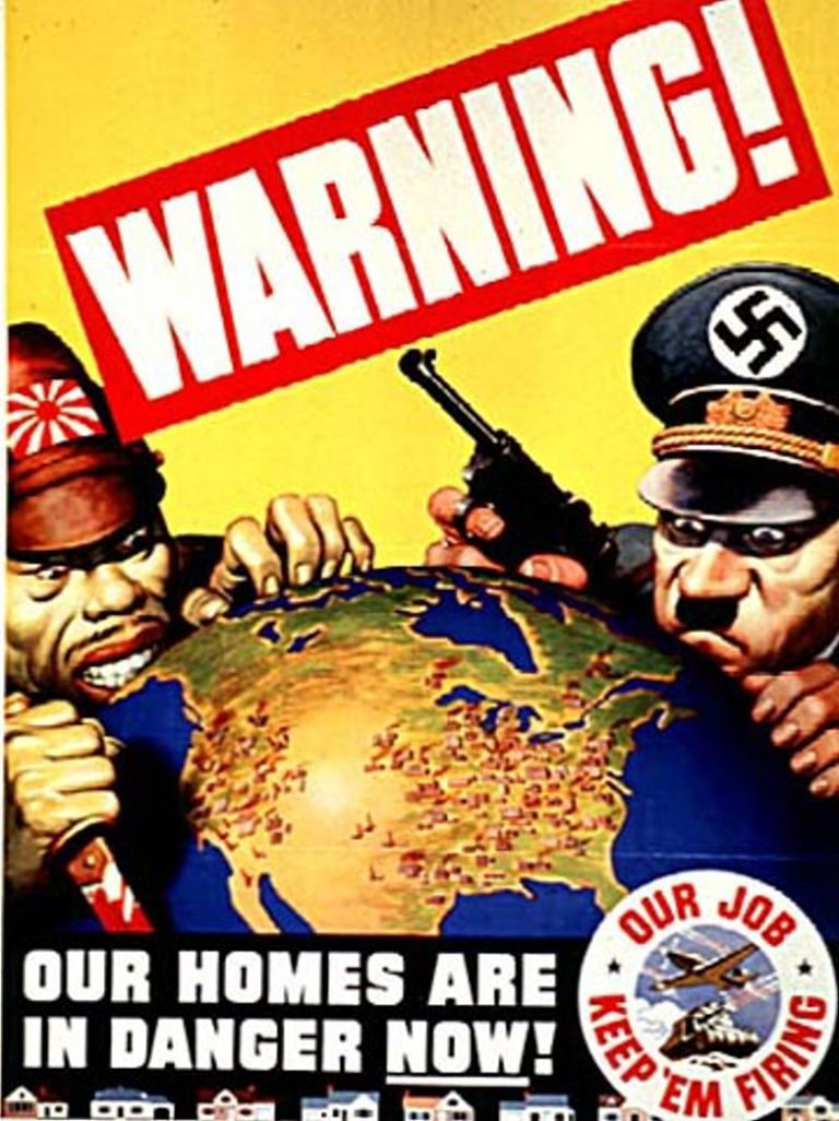 World War II Home Front Poster - 1942