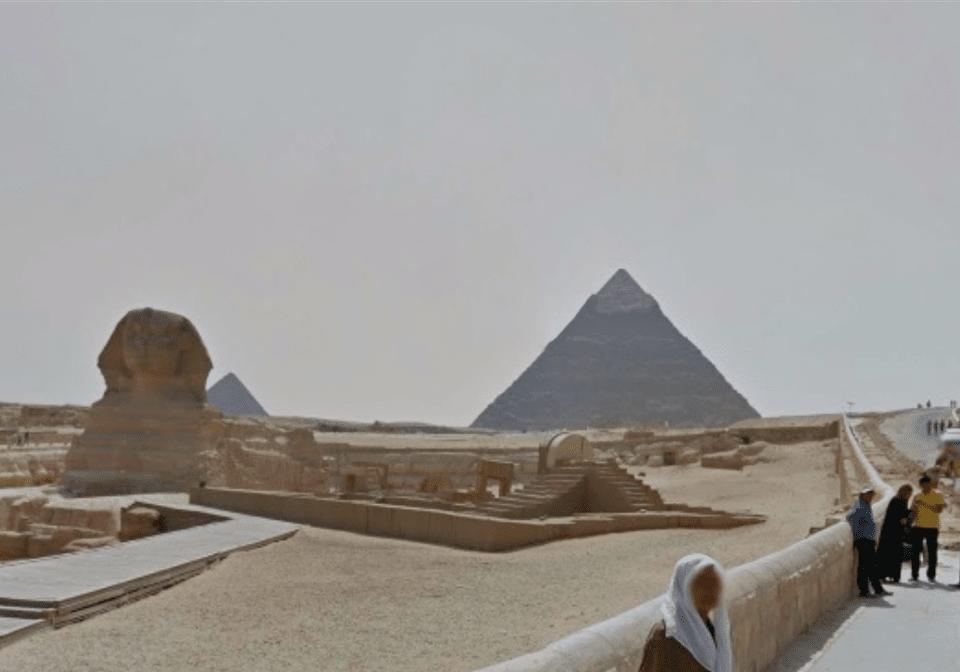 Egyptian Pyramids on Google Street View